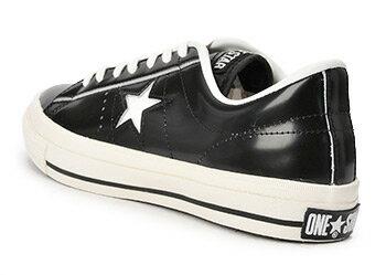コンバース ONE STAR(A) OX ワンスター オックス ABC-MART限定 BLACK/WHITE