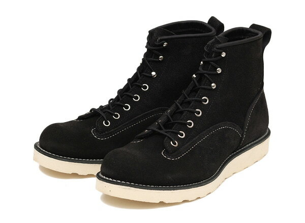 ブーツ, ワーク RED WING 6LINEMAN BOOTS6 2900 BLACK