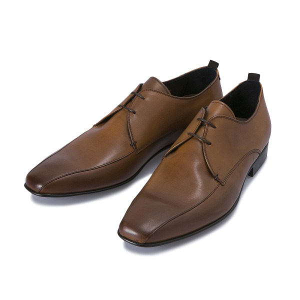 メンズ靴, ビジネスシューズ POLSA SWIRL S 511939S BRANDY
