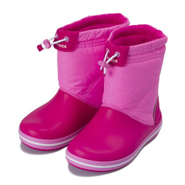 【crocs】 クロックス crocband lodgepoint boot kids クロックスバンド ロッジポイント ブーツ キッズ 203509-6LR CPk/PtPk