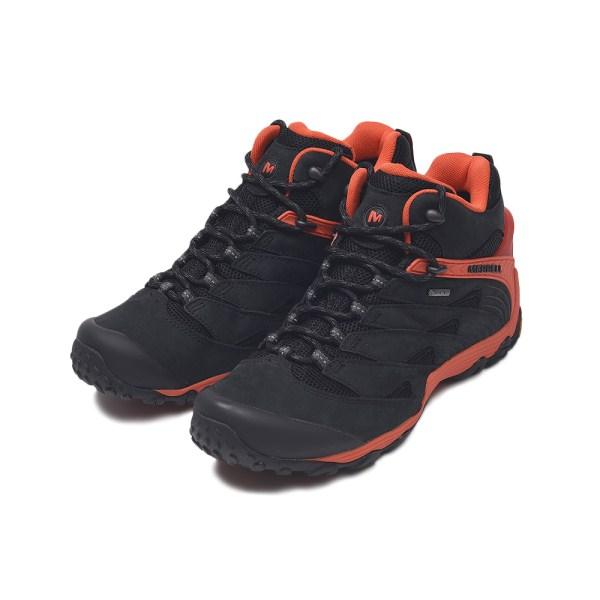 登山・トレッキング, 靴・ブーツ MERRELL CHAMELEON 7 MID GORE-TEX 7 98281 FIRE