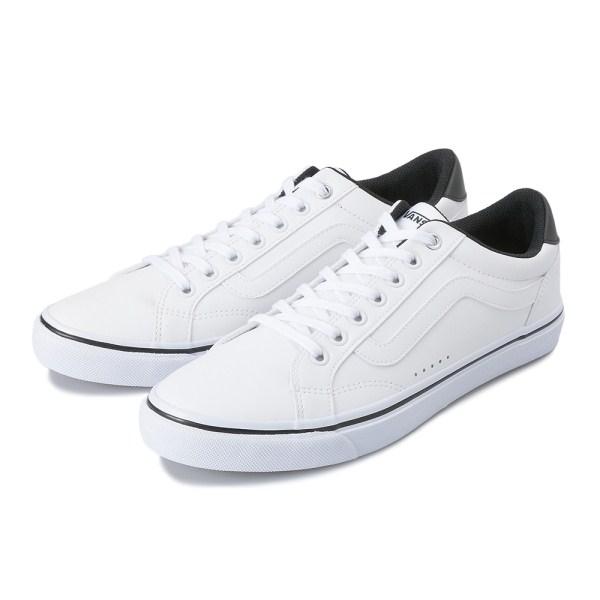 メンズ靴, スニーカー VANS WEEKLY COURT V441 WHITEBLACK