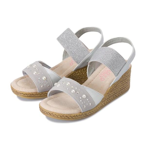 靴, サンダル  NUOVO PEARL4.5(17-23) N9269J SILVER