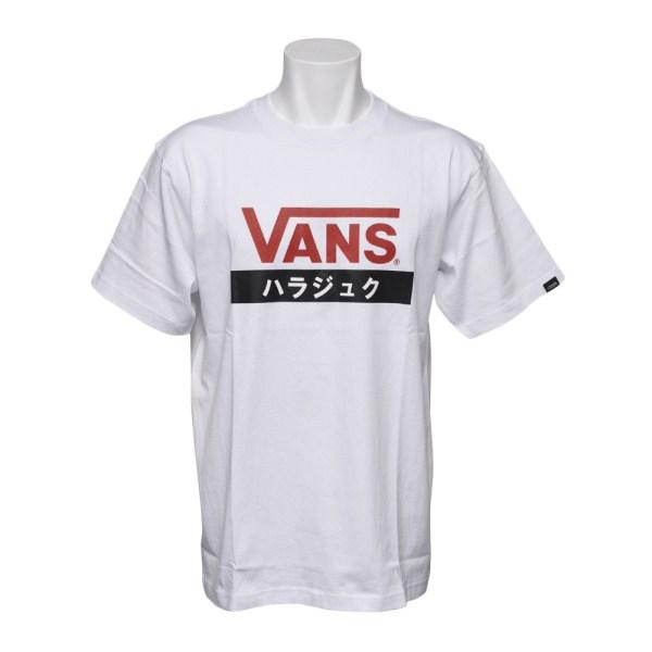トップス, Tシャツ・カットソー VANS T HARAJUKU SS TEE VANS-HRABC WHITE