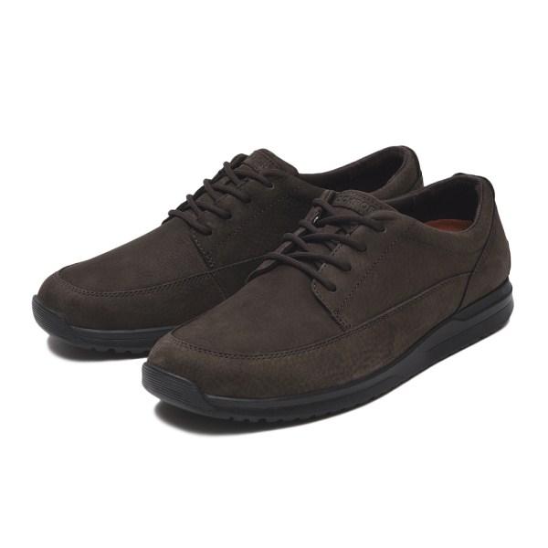 メンズ靴, ウォーキングシューズ ROCKPORT LANGDON LACE CH3680 ABC-MART DK CHOCO NBK