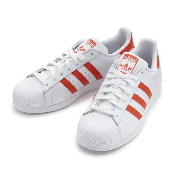 メンズ靴, スニーカー ADIDAS SUPERSTAR G27807 ABC-MART WHTAMBER