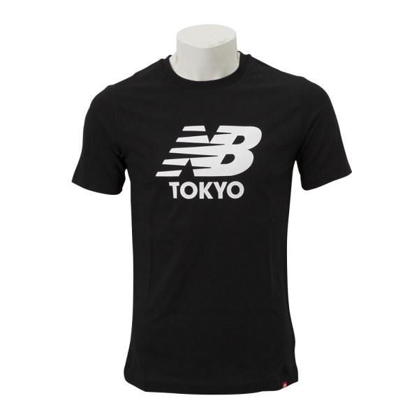 トップス, Tシャツ・カットソー New Balance M NB TOKYO T MT83587BK