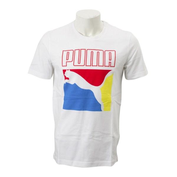 トップス, Tシャツ・カットソー PUMA M CLASSICS SS T 579084 52