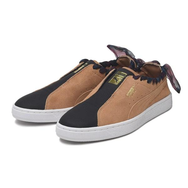 レディース靴, スニーカー  PUMA W SUEDE TWIST 369302 01BLACKTOAST