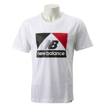 【New Balanceウェア】 ニューバランス ウェア M NBアスレチックアーカイブNB T WT(ホワイト)