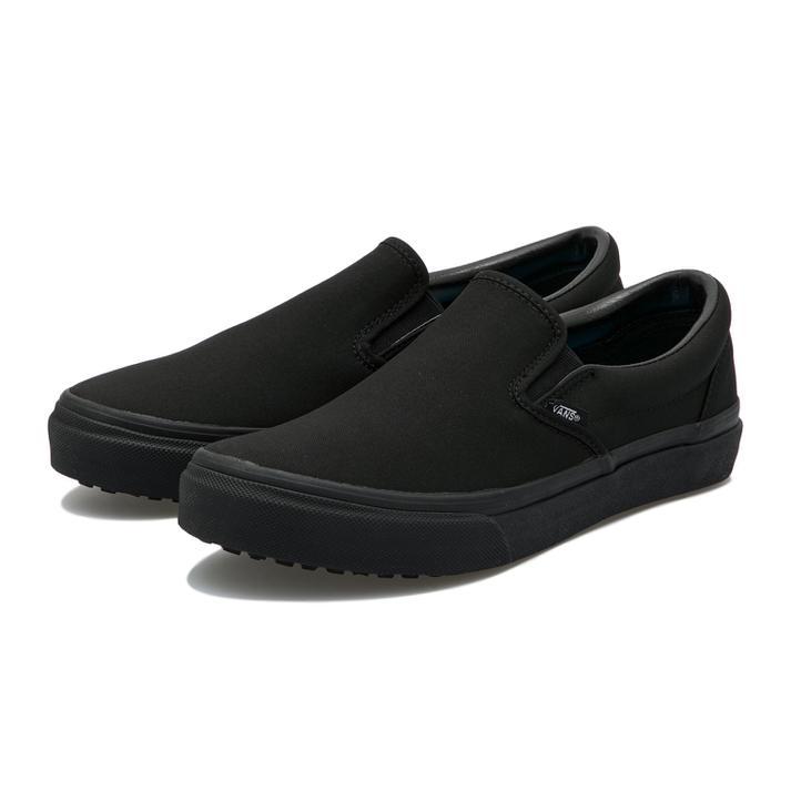 メンズ靴, スリッポン VANSSHOKUNINSLIP ON V98CF HSHIELD M.BLACK