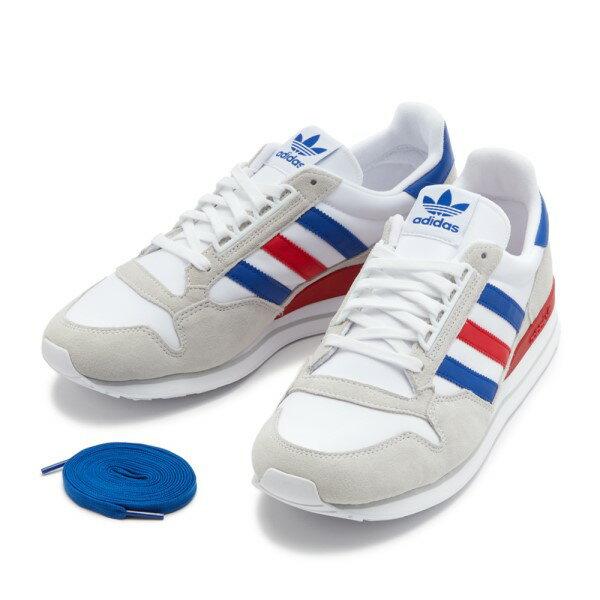 メンズ靴, スニーカー ADIDAS ZX500 OG OG FV2863 WHTNVYWHT