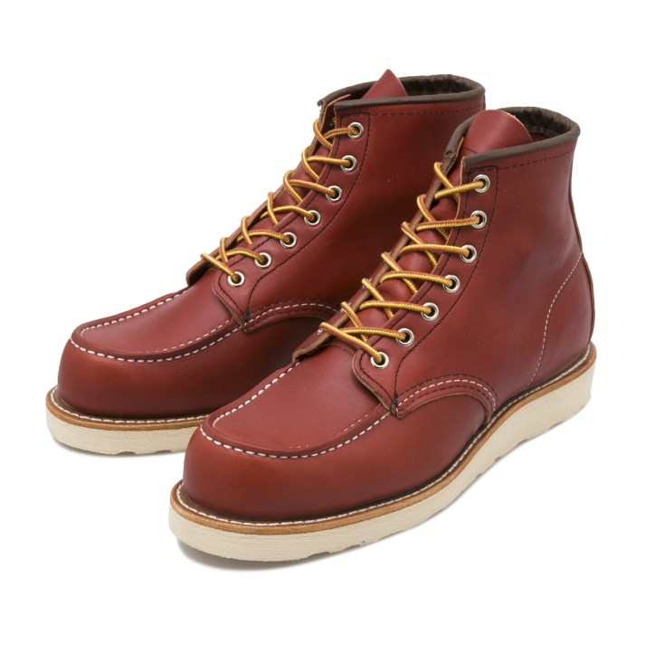 ブーツ, ワーク RED WING IRISH SETTER 6 MOC-TOE 6 8875 (E) ORO RUSSET