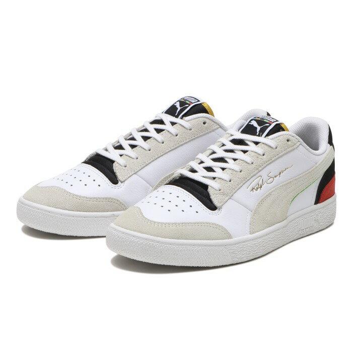 メンズ靴, スニーカー PUMA RALPH SAMPSON LO WH 374749 01WHBKH.RED