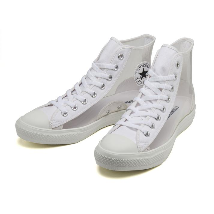 メンズ靴, スニーカー CONVERSE ALL STAR LIGHT CLEARMATERIAL HI 31302940 ABC-MART WHITE