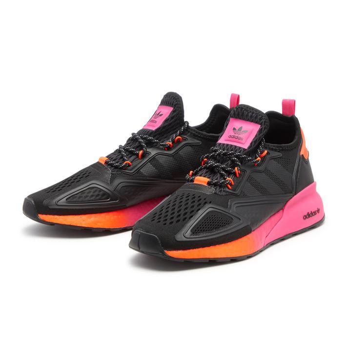 メンズ靴, スニーカー ADIDAS ZX 2K BOOST FV9997 BLKBLKRED