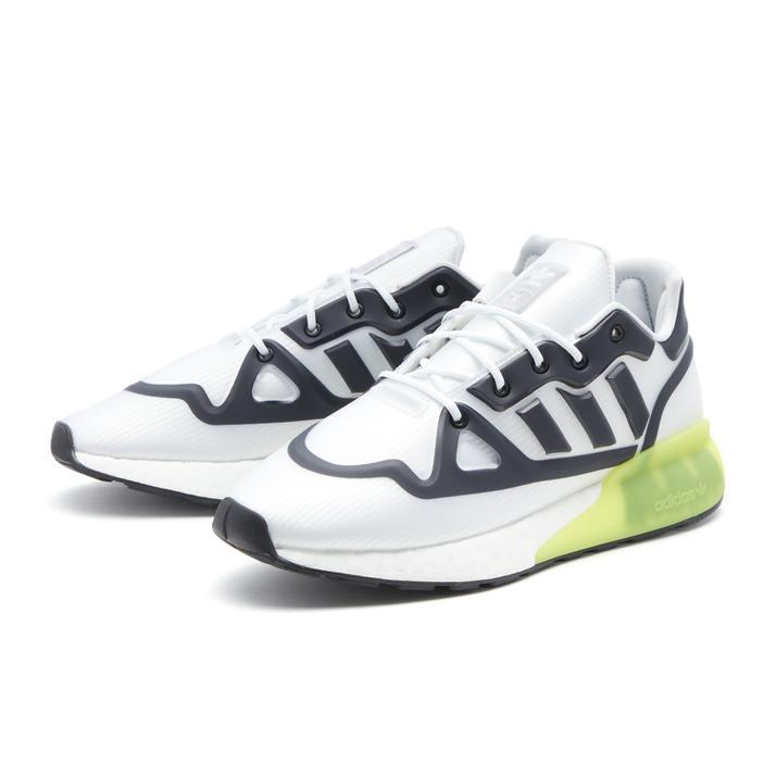 メンズ靴, スニーカー ADIDAS ZX2K BOOST FUTURESHELL 2K G55509 FWWTCBLKAYEL