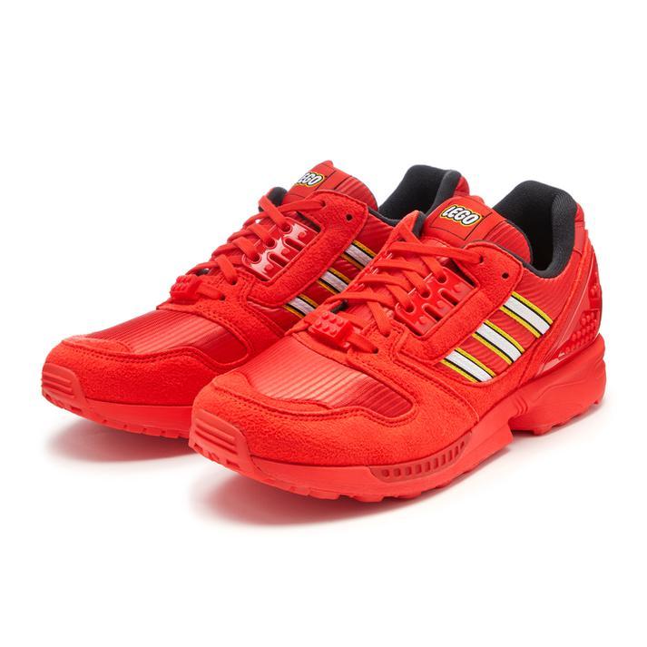 メンズ靴, スニーカー ADIDAS ZX 8000 LEGO ZX8000 FY7084 AREDFWHTARED