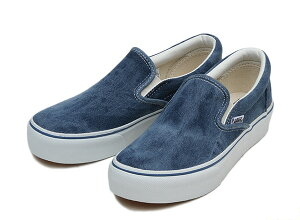 【VANS】 バンズ SLIP ON THICK スリッポン シック V98THICK FB F14 BLUE DENIM /ABCマート楽...