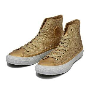 【CONVERSE】 コンバース ALL STAR GIRAGIRA HI オールスター ギラギラ ハイ 14FW GOLD /ABCマ...