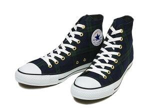 【CONVERSE】 コンバース ALL STAR BLACKWATCH(A) HI オールスター ブラックウォッチ ハイ 14FW...