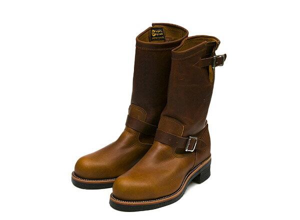 ブーツ, エンジニア CHIPPEWA 11 STEEL TOE ENGINEER 11 1901M05 TAN RENEGADE