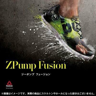 [先行予約] 【REEBOK】 リーボック ZPump Fusion ジーポンプ フージョン M47888 ブラック/シト...