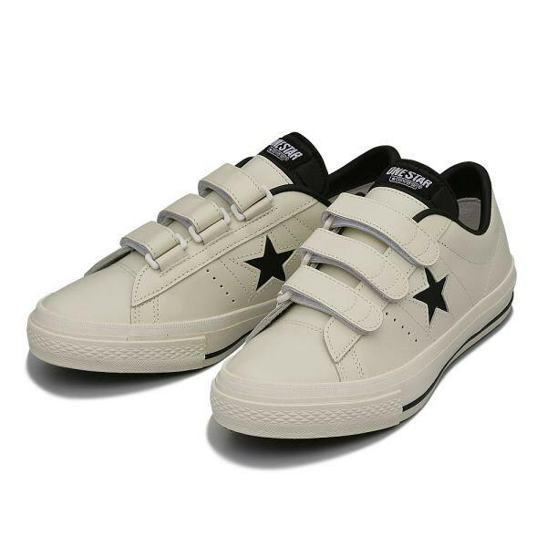 コンバース ONE STAR V-3(A) ワンスター V-3 ABC-MART限定 WHITE/BLACK