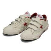 【CONVERSE】 コンバース ONE STAR V-3(A) ワンスター V-3 ABC-MART限定 WHITE/RED