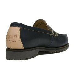 Rugged Beef Loafer D210004: Ink