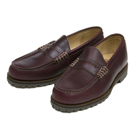 Rugged Beef Loafer D210004: Burgundy