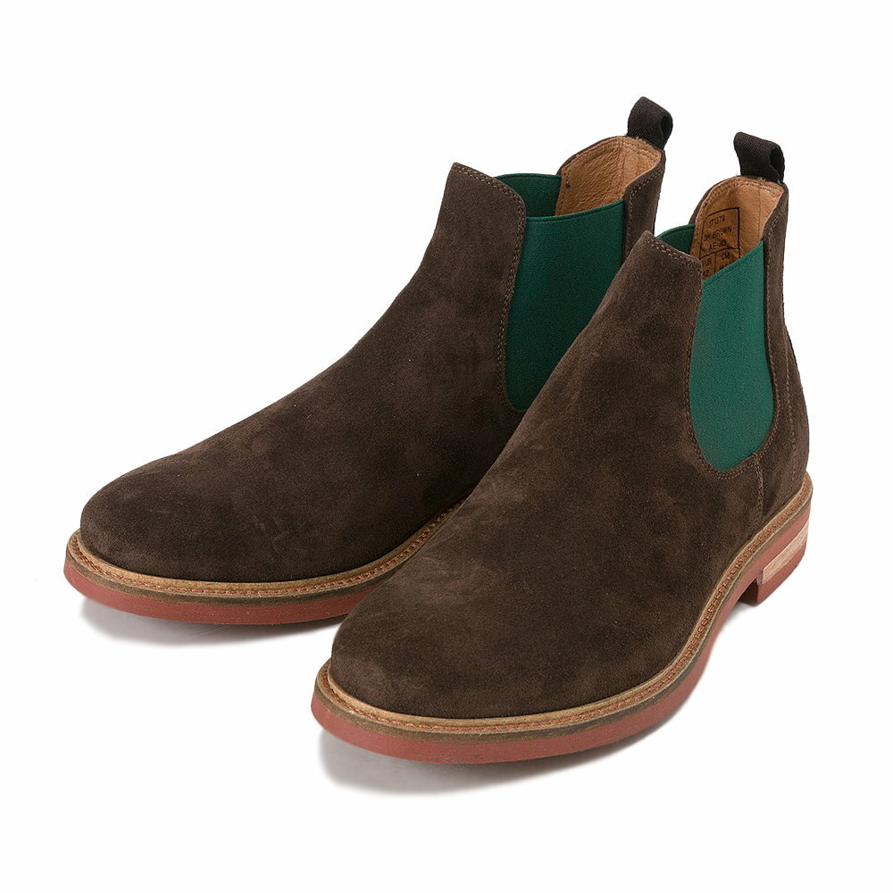 ブーツ, サイドゴア G.C.MORELLI SIDE GORE 171379 DK.BROWN