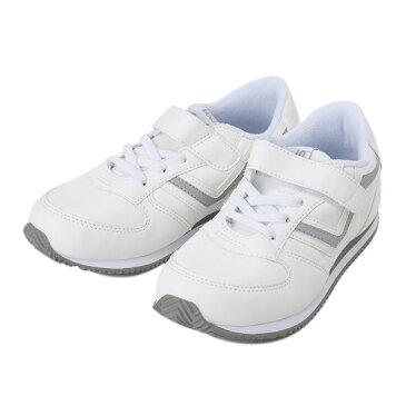 キッズ 【VANS】 ヴァンズ SERIO2 セリオ2 V2020K PU 16FA WHITE