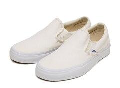【VANS】 バンズ CLASSIC SLIP-ON* クラシックスリッポン VN-0EYEWHT WHITE /ABCマート楽天市場店