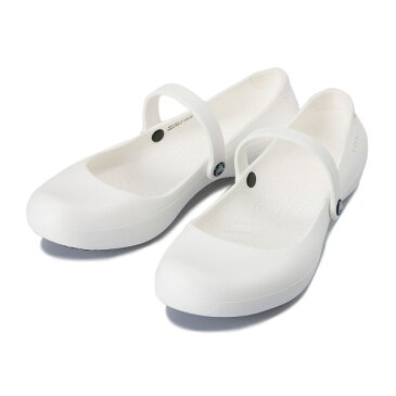 レディース 【crocs】 クロックス Alice Work アリス ワーク 11050-100 White