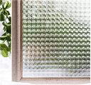 貼るだけで モザイクガラス ステンドグラス モザイク 擦りガラス 磨りガラス 目隠し CottonColors 3D 窓用フィルム 目隠しシート 断熱 紫外線カット 何度も貼直せる ガラスフィルム 90x200cm [夢の間021]