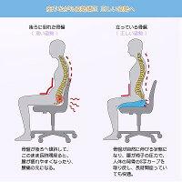 特化版】第五世代 健康クッション ヘルスケア座布団 低反発 人間工学設計 腰痛対策 姿勢矯正 骨盤サポート 美尻 通気 滑り止め