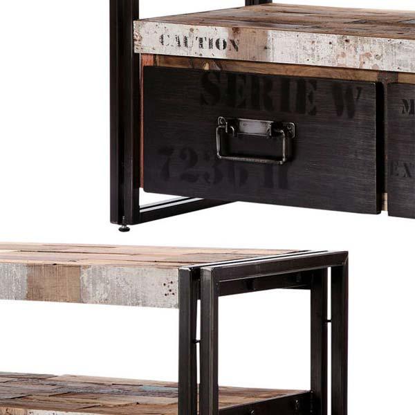 110769 tv s 112cm industrial tv board s d bodhi ferum. Black Bedroom Furniture Sets. Home Design Ideas