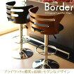 大人気昇降式カウンターチェアーバーチェアー【ボーダーJY-952】ブラウン/ブラック