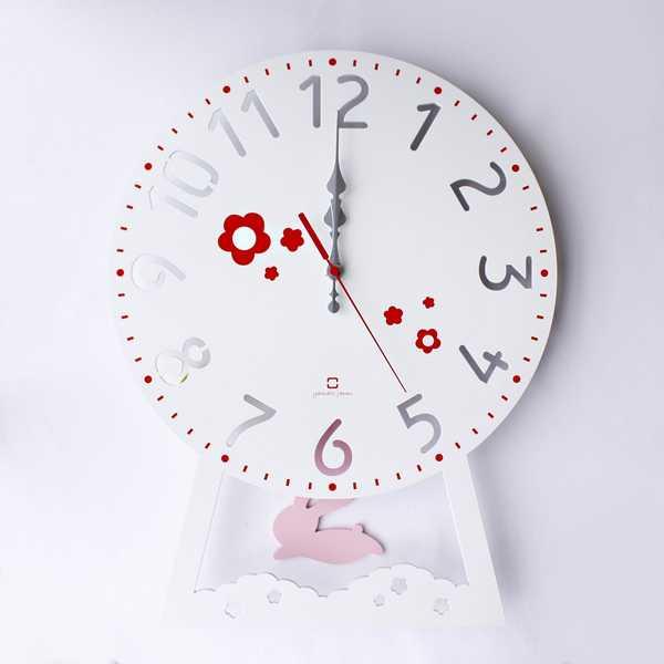 置き時計・掛け時計, 振り子時計 YK14-104 CHILD CLOCK yamato japan