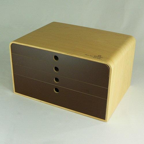 ヤマト工芸『A4ファイルケース4段』