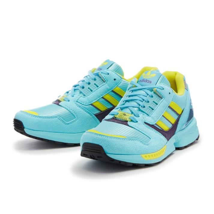 メンズ靴, スニーカー adidas ZX 8000 EG8784 TURBLUYEL