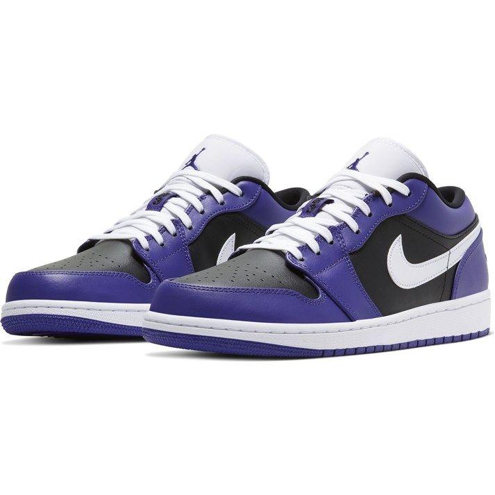 メンズ靴, スニーカー JORDAN AIR JORDAN 1 LOW 1 LOW 553558-501 501CTPURPWHT