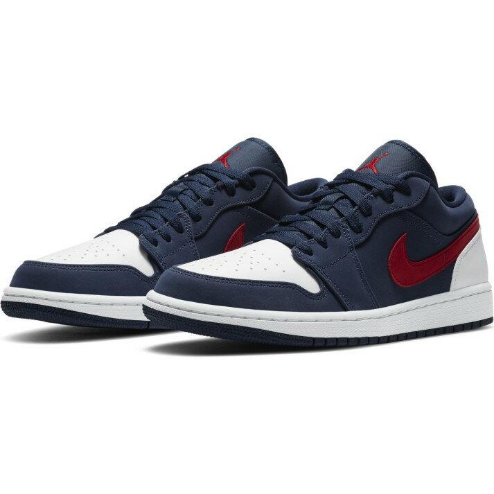 メンズ靴, スニーカー JORDAN AIRJORDAN 1 LOW SE 1 LOW SE CZ8454-400 400MNNAVYU RED