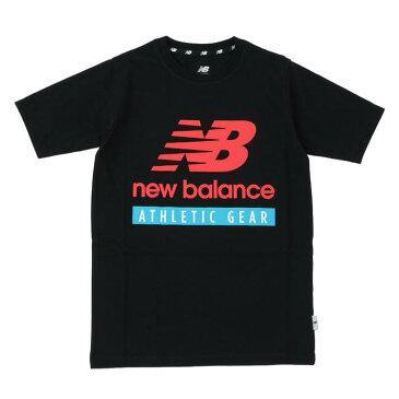 キッズ【New Balance】 ニューバランス NB Essentials NBロゴ Tシャツ ショートスリーブ JJTP1303BK BK