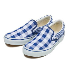 【VANS】 バンズ SLIP ON スリッポン V98CL GGC 15SP BLUE /ABCマート SPORTS PLAZA店