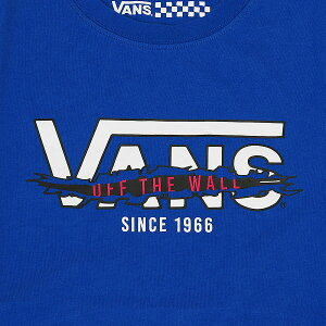 レディース【VANSアパレル】ヴァンズTシャツSLASHERFLYINGVTEEVN0004NME9K16SPNauticaBlue