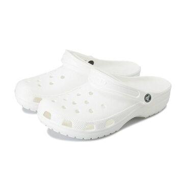 【crocs】 クロックス classic クラシック 10001-100 white