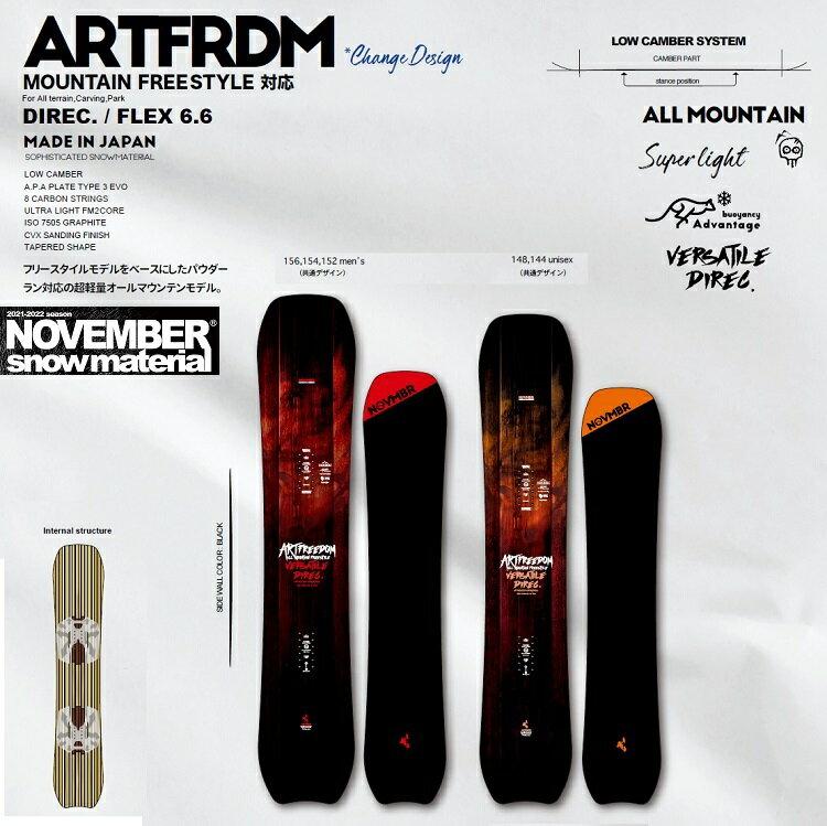 スノーボード用品, ボード 10NOVEMBER ARTFREEDOM 21-222022 NOV