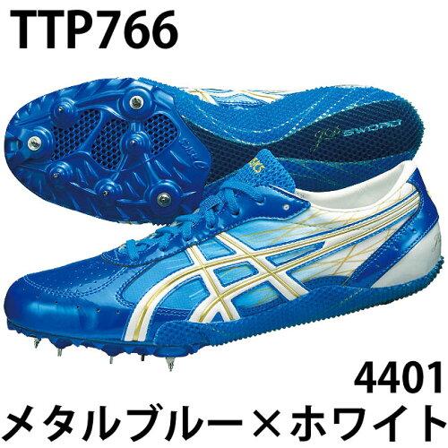 JPSWORD-R ジェーピーソード 陸上スパイク/asics/ (TTP766) 4401メタルブルー×ホ...